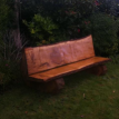 Bespoke Woodcraft tree bench